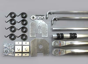 parts for aluminum external systme