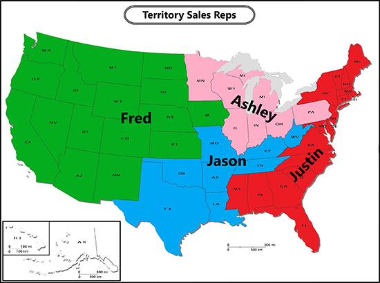 territory representatives