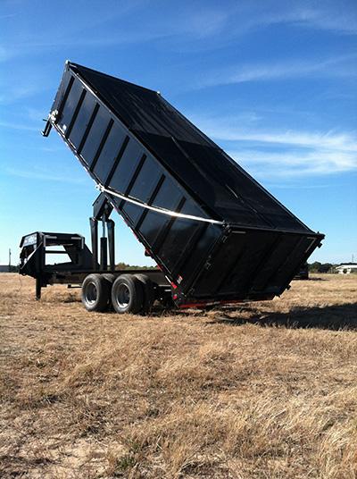 dump truck system