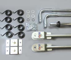 4 Spring Steel Arm Kit