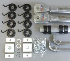 4 Spring Aluminum Arm Kit